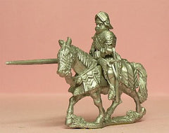 M48 Mounted Knight c.1475 in Gothic Armour & Sallet