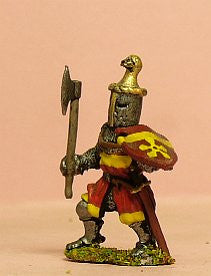 M4e Later Medieval: Dismounted Knight c 1325 in Great Helm