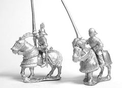 MER50 Early Renaissance: Gendarmes in Sallets on Armoured Horse