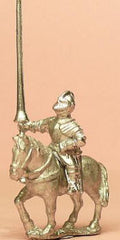 MER81a Renaissance 1520-1580AD: Mounted Men at Arms in Closed Helmets with Lance & 2 Pistols