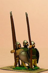 MID105 LaterSpanish: Spearmen with Convex Almond Shield