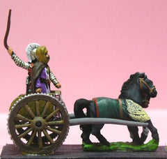 MPA48 Achaemenid Persian: General & driver in two horse light chariot