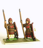 PCH3a Northern & Southern Dynasties Chinese: Heavy Infantry, Leather Armour with Spear