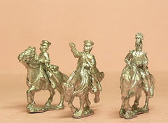 PPN17 Prussian 1814-15: Command: Mounted Blucher & two Staff Officers