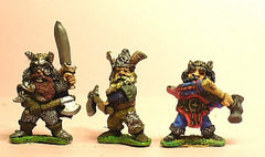 Q103 Chaos Dwarf: Three assorted Beserkers