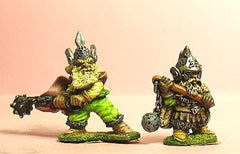 Q109 Chaos Dwarf: Three Dwarves with Morning Star