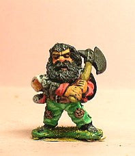 Q110 Chaos Dwarf: Three assorted Dwarf Warband
