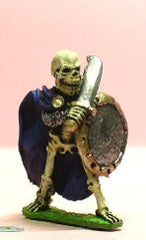 Q55 Skeleton: attacking with Sword and Shield