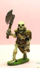 Q56 Skeleton: with large raised Axe and Sword