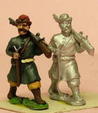 RC4 Cossack: Musketeer advancing, head variants