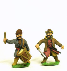 RNC12 16-17th Century Cossacks: Command: Officers, Standard Bearers & Drummers