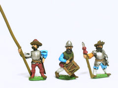 RNL13 Landsknecht: Command: Officers, Standard Bearers & Drummers