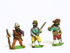 RNL8 Landsknecht: Musketeer, assorted poses