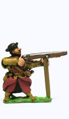 RPP2 16-17th Century Polish: Musketeer with Rest, firing
