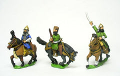 RUS1 Muscovite: Command: Mounted Generals / Cavalry Officers