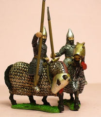 SAP2 Sassanid Persian: Cataphract in metal face guard, assorted heads