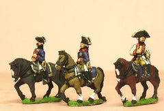 SYP21 Seven Years War Prussian: Command: Mounted General and Staff Officers