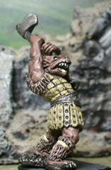 FAN64 Gnoll: Striking with 2 Handed Axe