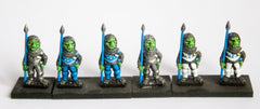 FAN77a Goblin: Heavy Spearmen (3 per pack, single pose)