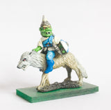 FAN83 Goblin: Cavalry: Wolf Rider with Axe & Sword