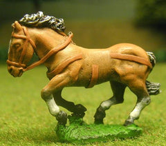 H1a Horses: Unarmoured: Medium / Heavy galloping, with legs bunched, head variants