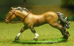H3 Horses: Unarmoured: Medium / Heavy galloping with legs outstretched