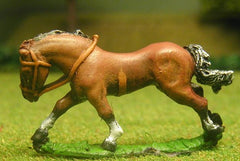 H3a Horses: Unarmoured: Medium/Heavy galloping with legs outstretched, head variants