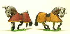 H44 Horses: Ancient: Fully Armoured: Fully armoured with cloth cover and mail neck armour