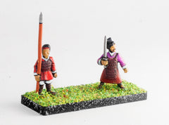 HCH14 Han Chinese: Command: Officers and Standard Bearers