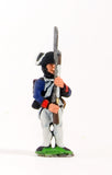 INA2 AWI American: Infantryman at ready with Musket upright
