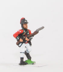 INB11 AWI British: Light Infantry advancing with Musket forward
