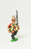 SYBR3a Seven Years War British: Grenadier Advancing, Musket upright, variants