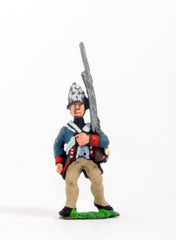 ING12 AWI German: Fusilier advancing with Musket upright