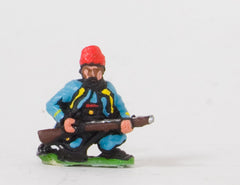 KO35 French: Zouaves: Kneeling loading, in Fez
