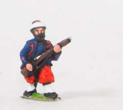 KO40 French: Zouaves: At the ready in Fez with Turban wraparound