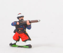 KO41 French: Zouaves: Firing in Fez with Turban wraparound