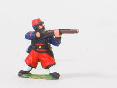 KO45 French: Zouaves: Firing in Kepi