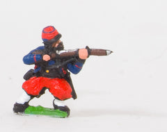 KO46 French: Zouaves: Leaning firing in Kepi