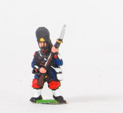 KO49 French: Grenadiers of the Guard: Advancing/attacking in Bearskin