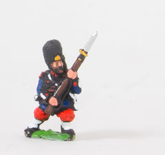 KO50 French: Grenadiers of the Guard: Advancing/attacking in Bearskin
