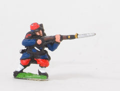 KO6 French: Early Infantry: Leaning forward firing