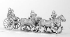 KOE3 French horse artillery limber with four horses, two drivers, two gunners