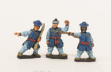 KRA16 Late 16th C. Korean: Artillery: Rocket Crew