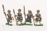 KRA8 Late 16th C. Korean: Medium Infantry with Halberds