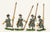 KRA9 Late 16th C. Korean: Medium Infantry with Spears
