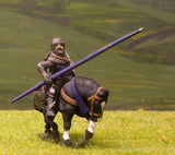 M1a Later Medieval: Mounted Knight c.1310 with Kite Shield in Mail Coif