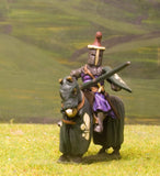 M1e Later Medieval: Mounted Knight c.1325 in Great Helm with Duck Crest