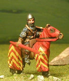 M2e Later Medieval: Mounted Knight c.1340 in Conical Open Face Helm