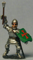 M35 Dismounted Knight c.1415 in Plate Armour and visorless Bascinet