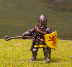 M6c Later Medieval: Dismounted Knight c.1350 in Conical Helm with nasal